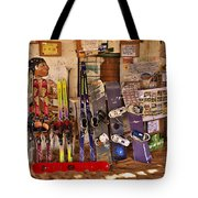 Ready For Sand Skiing Tote Bag