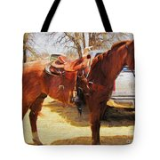 Ready For Some Ropin Tote Bag