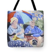 Ready For The Millbury Parade Tote Bag by Carol Flagg