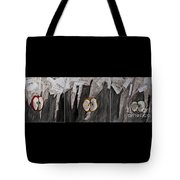 Ready-set-go Triptych Tote Bag