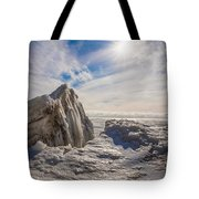 Ready To Let Loose Ice Formation Tote Bag