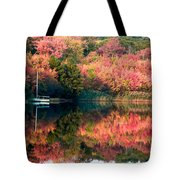 Ready To Sail In The Fall Colors Tote Bag