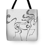 Ready To Trot Tote Bag