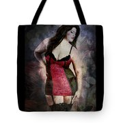 Real Woman Real Curves Tote Bag