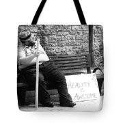 Reality Is Awesome  Tote Bag