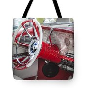 Really Red 1959 Lincoln Interior Tote Bag