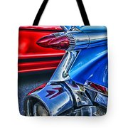 Rear Tail Lights Tote Bag
