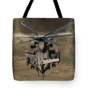 Rear View Of An Israeli Air Force Ch-53 Tote Bag