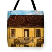 Rear View Window... Tote Bag