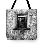 Rear Window Bw Santa Barbara Tote Bag