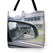 Rearview Mirror Tote Bag
