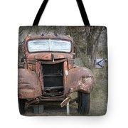 Rebel Truck Tote Bag