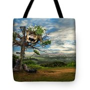 Rebirth Of A Fallen Soldiers Cross Tote Bag