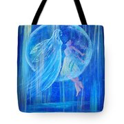 Rebirthing The Sacred Feminine Tote Bag by The Art With A Heart By Charlotte Phillips