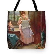 Recent News Tote Bag by Haynes King