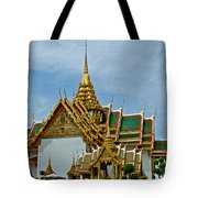 Reception Hall At Grand Palace Of Thailand In Bangkok Tote Bag
