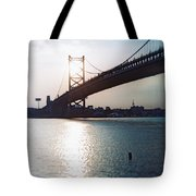 Recesky - Benjamin Franklin Bridge 1 Tote Bag