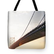 Recesky - Benjamin Franklin Bridge 3 Tote Bag