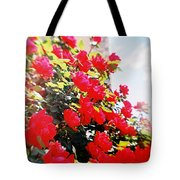 Recesky - Bright Roses Tote Bag