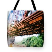 Recesky - Whitford Railroad Bridge Tote Bag