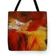 Reclining Beauty 11 Tote Bag