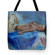 Reclining Beauty 111 Tote Bag