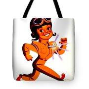 Recruiting Poster - Ww2 - Army Air Forces Tote Bag