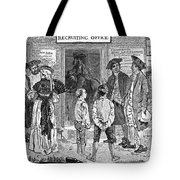 Recruitment, C1778 Tote Bag