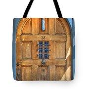 Rectory Door Tote Bag