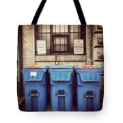 Recycled Boston Tote Bag