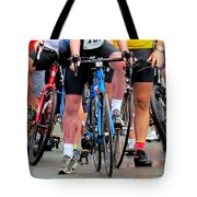 Recycling Knees Tote Bag