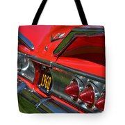 Red 1960 Chevy Tote Bag