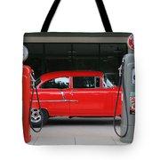 Red 55 Tote Bag