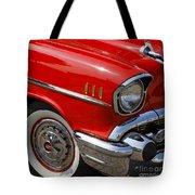 Red '57 Tote Bag