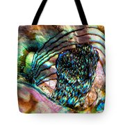 Red Abalone Tote Bag