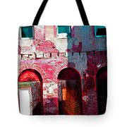 Red Abandonment Tote Bag