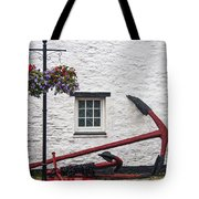 Red Anchors Tote Bag