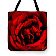 Red And Black Layers Tote Bag