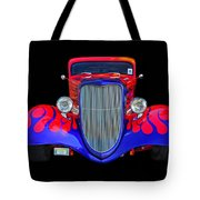 Red And Blue Custom Tote Bag