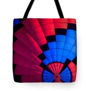 Red And Blue Pattern Tote Bag