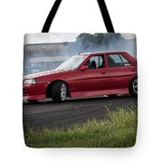 Red And Drift Hard Tote Bag