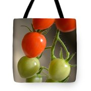 Red And Green Tomatoes Tote Bag
