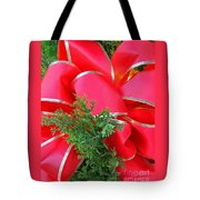 Red And Greens Tote Bag