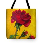 Red And Small Tote Bag