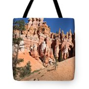 Red And White Rocks - Bryce Canyon Tote Bag