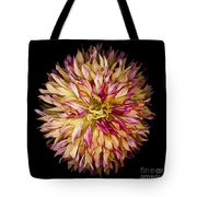 Red And Yellow Dahlia Tote Bag