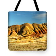 Red And Yellow Painted Hills Tote Bag
