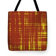 Red And Yellow Wave No 1 Tote Bag