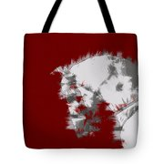 Red Andalusian Tote Bag