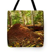Red Ants Nest Tote Bag